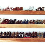 Cách sắp xếp giày dép đẹp mắt, gọn gàng cho nhà nhỏ